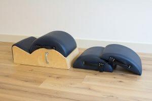 De Spine corrector en de Small Barrels bij Pilates Studio van Sonsbeek