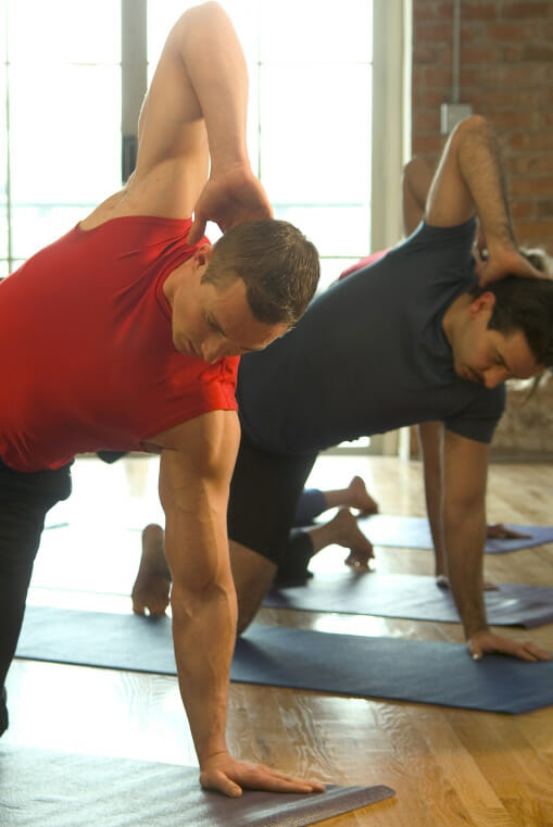 Pilates is perfect voor mannen!