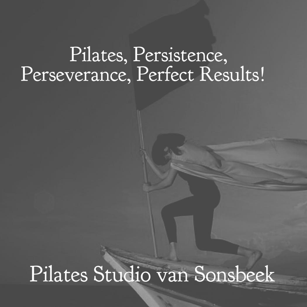 Vertrouw op het Pilates proces.