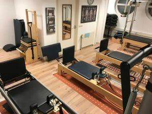 Apparatenzaal Pilates van Sonsbeek