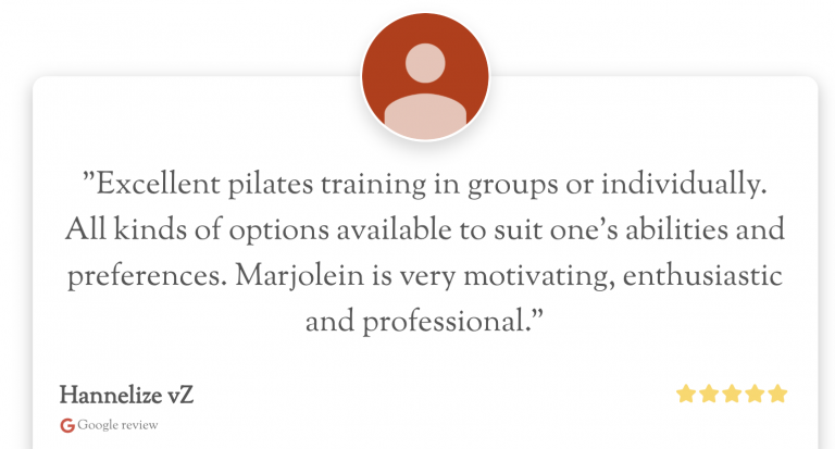 Reviews Pilates Studio van Sonsbeek
