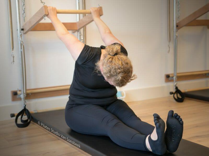 Reverse Push Through bij Pilates Studio Van Sonsbeek