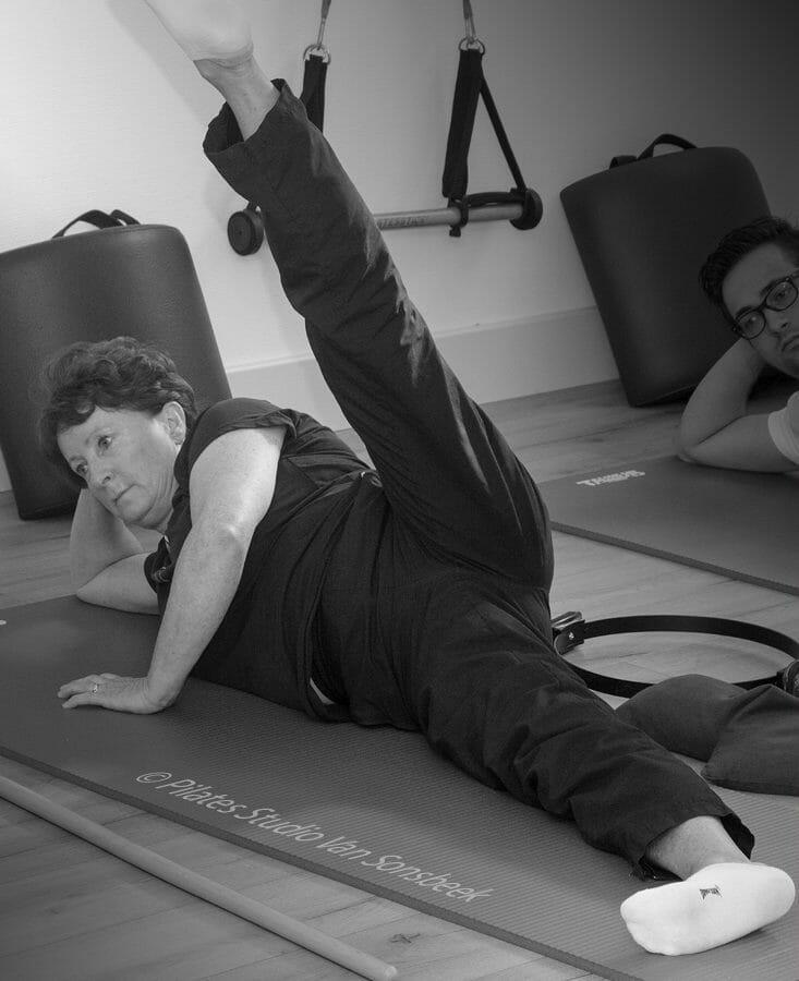 Lennie. Pilates mat, Up & Down