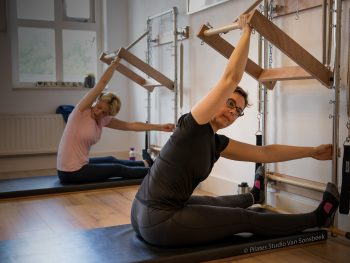 Saw met de Wall Tower bij Pilates Studio Van Sonsbeek
