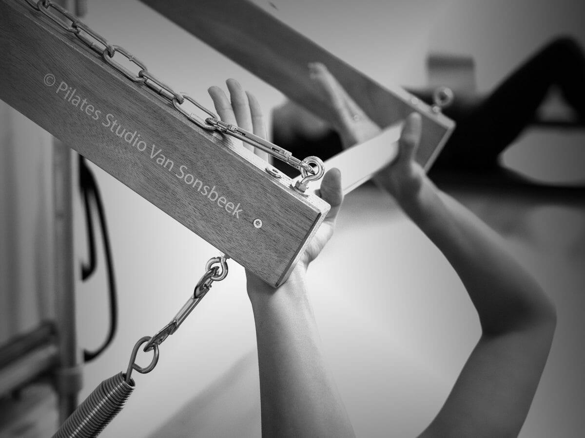Push Through Bar, Pilates Studio Van Sonsbeek